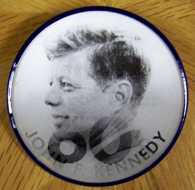 JFK, John Fitzgerald Kennedy Flasher Political Button, 1960, Rare Find - Roadshow Collectibles