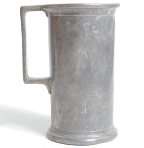 Civil War Era Pewter Field Mug with Handle 1861 to 1865 - Roadshow Collectibles