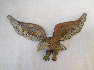 Cast Iron Eagle Hand Painted In Shippensburg PA By Domestic Casting Co - Roadshow Collectibles