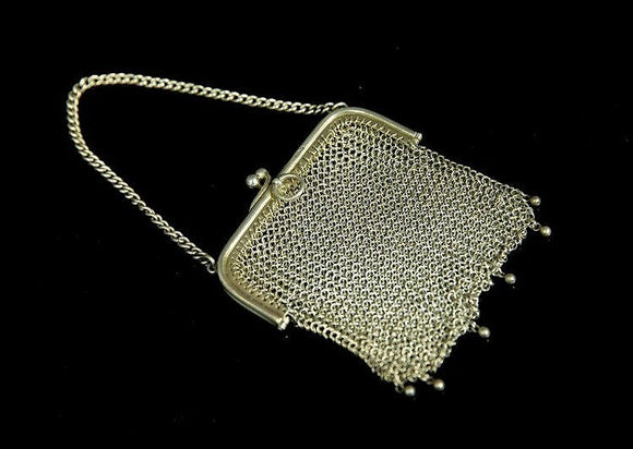 Sterling Silver Mesh Purse - Roadshow Collectibles