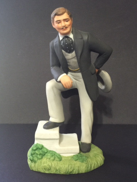 Gone With The Wind 1939 Clark Gable Porcelain Figurine as Rhett Butler - Roadshow Collectibles