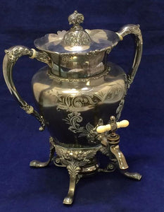 Barbour Silver Co Quadruple 1019 Coffee Server - Roadshow Collectibles