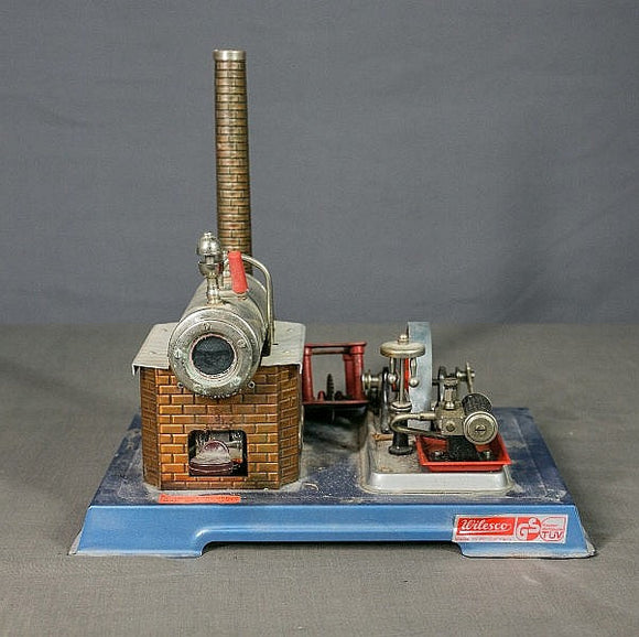 Wilesco Model D10 Tinplate Steam Engine Toy - Roadshow Collectibles