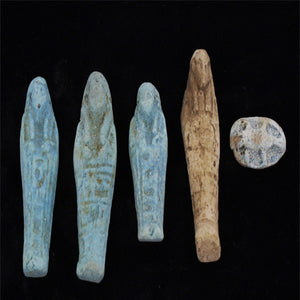 Ancient Egyptian Collection Of Ushabti Figurines From An Egyptian Tomb - Roadshow Collectibles