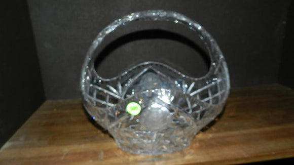 Cut Crystal, Large Glass Basket - Roadshow Collectibles