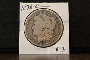 Morgan 1896 'O' Silver Dollar - Roadshow Collectibles