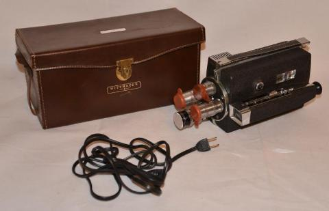 1959 Longines-Wittnauer 8mm Camera Cine-Twin Model WD 400 - Roadshow Collectibles