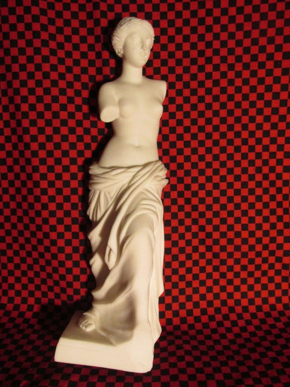 Aphrodite/Venus Di Milo Stone Statue Handmade in Greece - Roadshow Collectibles