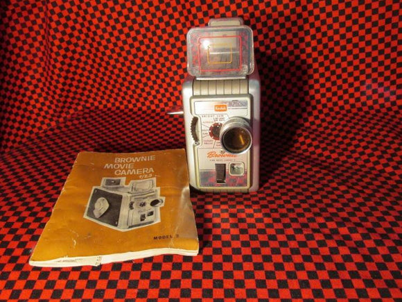 Kodak Brownie Model 2 Movie Film Camera, 1958 - Roadshow Collectibles