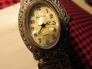 Pierre Nicol Analog Silver-Tone Wristwatch - Roadshow Collectibles