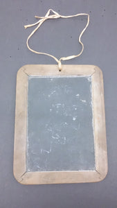Student Slate Blackboard, Wood Frame, 1800's - Roadshow Collectibles