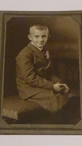 Black & White Portrait Of a Young Boy By Arthur L. Bundy, Early 1900s - Roadshow Collectibles