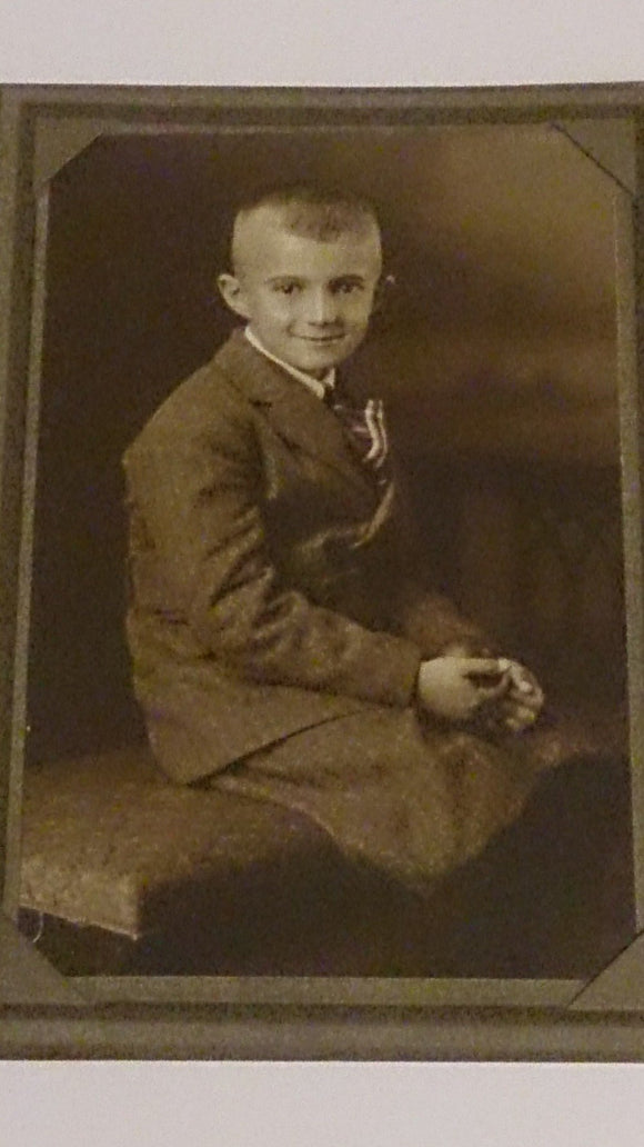 Black and White Portrait, Young Boy, Early 1900's - Roadshow Collectibles