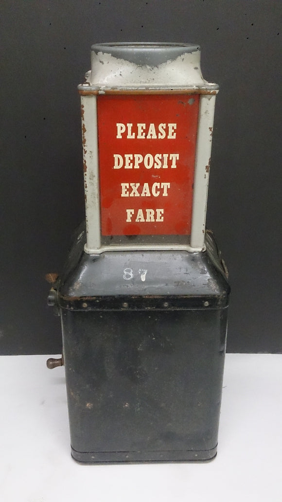 Streetcar or Bus Collection Farebox - Roadshow Collectibles