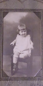 Black & White Portrait Baby Girl Photo By Albro's Photoshop Flint Mich - Roadshow Collectibles