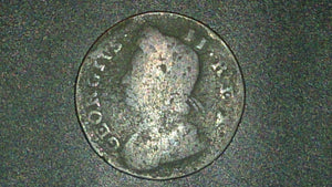 1730 George II Halfpenny, Copper, Great Britain, Royal Mint London - Roadshow Collectibles
