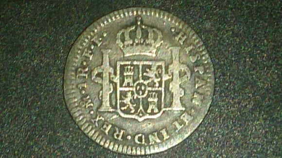 1782 1 Reales Spanish Silver Coin King Charles III Minted Mexico City - Roadshow Collectibles