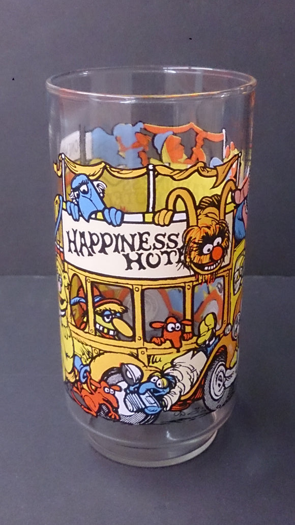 1981 The Great Muppet Caper Happiness Hotel McDonald's Drinking Glass - Roadshow Collectibles