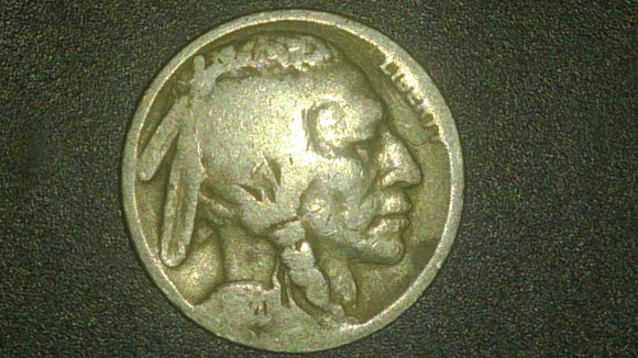 1920 Indian Head Buffalo Nickel Minted In Philadelphia James E Fraser - Roadshow Collectibles