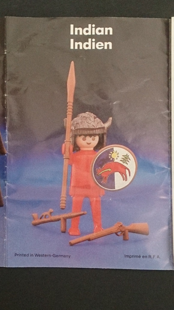 1982 McDonald's Happy Meal Toy, Playmobil Indian and Accessories - Roadshow Collectibles