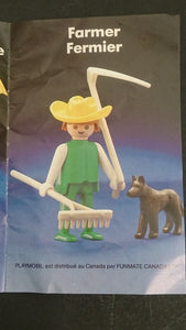 1982 McDonald's Happy Meal Toy, Playmobil Farmer & Dog & Accessories - Roadshow Collectibles