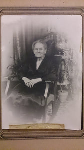 Black and White Portrait Of Maura's 80th Birthday, Feb 24, 1939 - Roadshow Collectibles