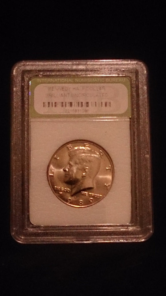 1989-D John F. Kennedy Half Dollar Brilliant Uncirculated - Roadshow Collectibles