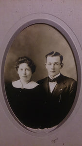 Black and White Portrait Of a Young Couple - Roadshow Collectibles