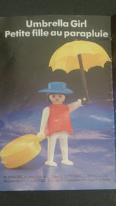 1982 McDonalds Happy Meal Toy Playmobil Umbrella Girl and Accessories - Roadshow Collectibles