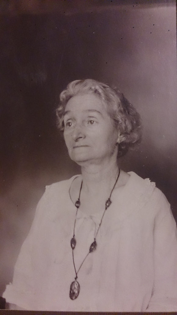 Black and White Sepia Portrait Of an Elderly Woman - Roadshow Collectibles