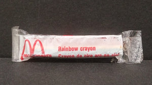 McDonald's Rainbow Crayon, Still In Package - Roadshow Collectibles