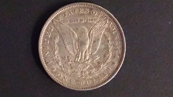 Morgan 1898 Silver Dollar, XF - Roadshow Collectibles