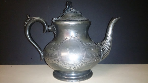 Coffee Pot Or Teapot, EPBM, 3712 Stock Number, 20 Fluid Ounces, 1800s - Roadshow Collectibles