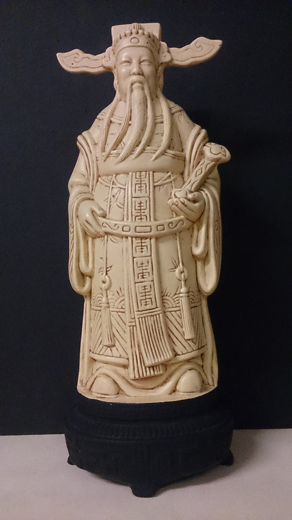 Chinese Blanc De Chine Porcelain Elder Figure, Holding a Scroll - Roadshow Collectibles