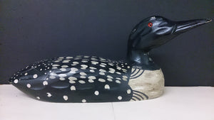 Heritage Mint Ltd Hand Carved Loon Decoy with Glass Eyes - Roadshow Collectibles