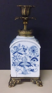 Beautifully Detailed Meissen Porcelain Candlestick Holder - Roadshow Collectibles
