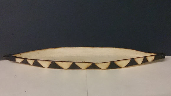 Native American Canoe, Miniature Hand Made Example - Roadshow Collectibles