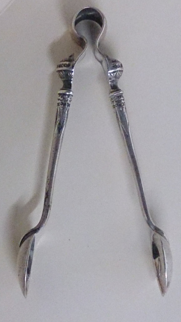 Sterling Silver Sugar Tongs - Roadshow Collectibles