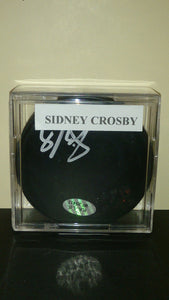 Sidney Crosby, NHL Superstar Hand Signed Autographed Hockey Puck - Roadshow Collectibles
