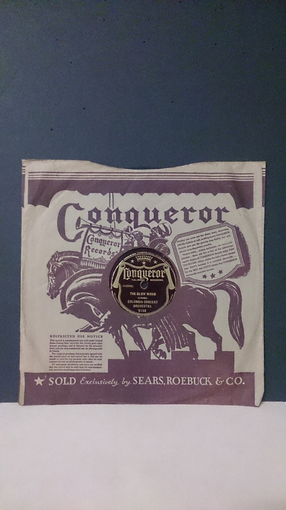 Conqueror Records/Glow Worm/Broken Melody/Columbia Concert Orchestra - Roadshow Collectibles