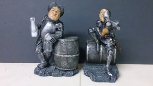 Bookends, a Pair, Depicting Soldiers Drinking - Roadshow Collectibles