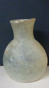 Ancient Roman Unguentaria Glass, Pale Blue, 3rd To 4th Century AD - Roadshow Collectibles