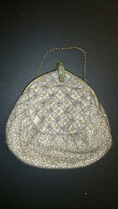 Intricately Patterned Ladies Deco Evening Clutch Purse - Roadshow Collectibles