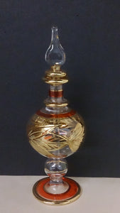 Perfume Bottle, Nefertiti Imports, Egyptian Handmade and Painted - Roadshow Collectibles