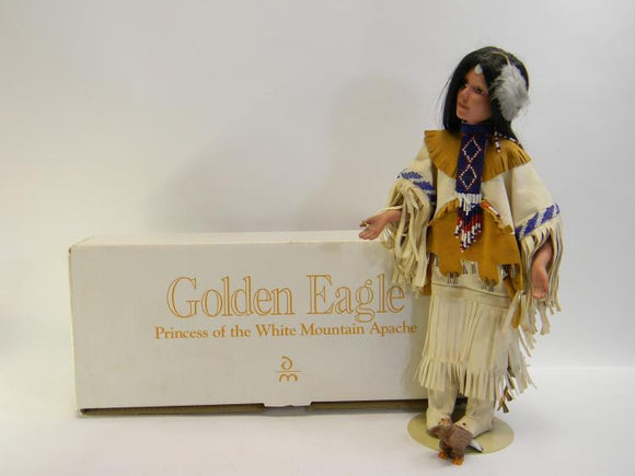 Danbury Mint Golden Eagle Princess Of The White Mountain Apache Doll - Roadshow Collectibles