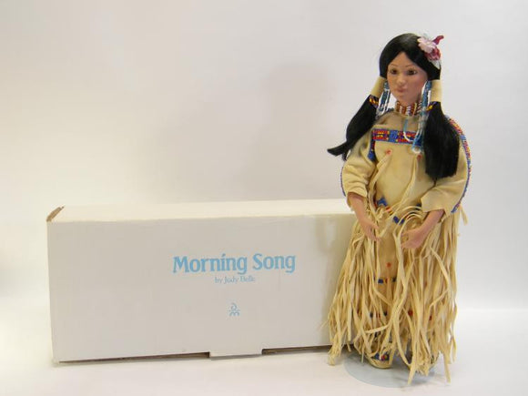 Danbury Mint Morning Song Native American Bride Collection Doll - Roadshow Collectibles