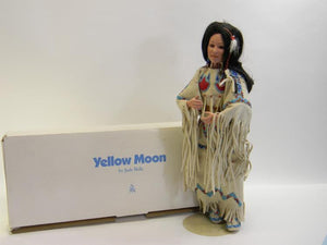 Danbury Mint Yellow Moon Native American Bride Collection Doll - Roadshow Collectibles