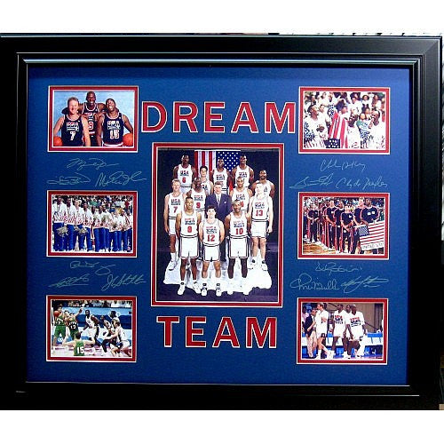 1992 U.S Olympic Photo of The Gold Medal Basketball Dream Team Winners - Roadshow Collectibles