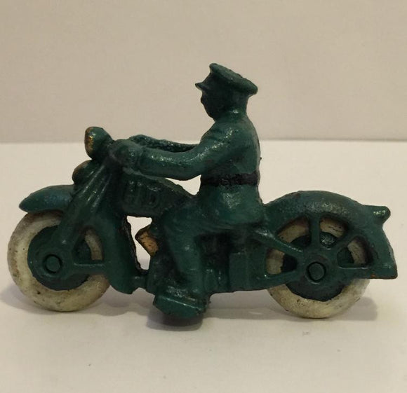 Toy Harley Davidson Police Motorcycle, Early Cast Iron - Roadshow Collectibles