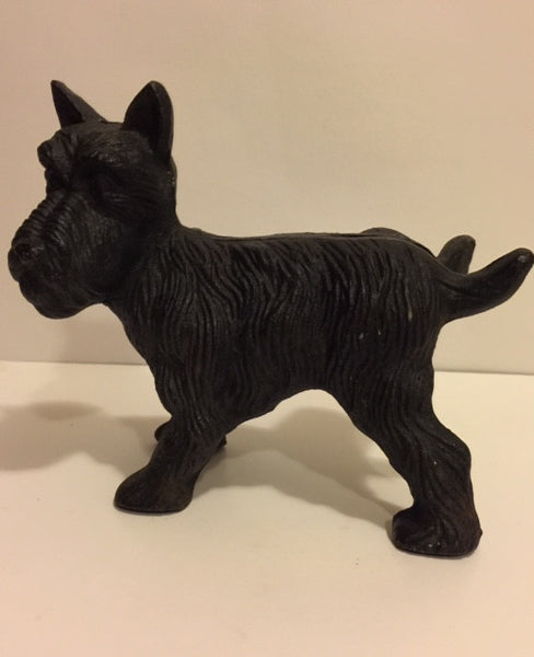 Early Cast Iron Scottie Dog Door Stopper Roadshow Collectibles